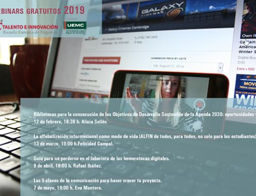 Te ofrecemos 4 webinars gratuitos sobre biblioteca y tecnología
